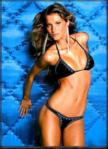 Why a picture of Gisele? Why not?